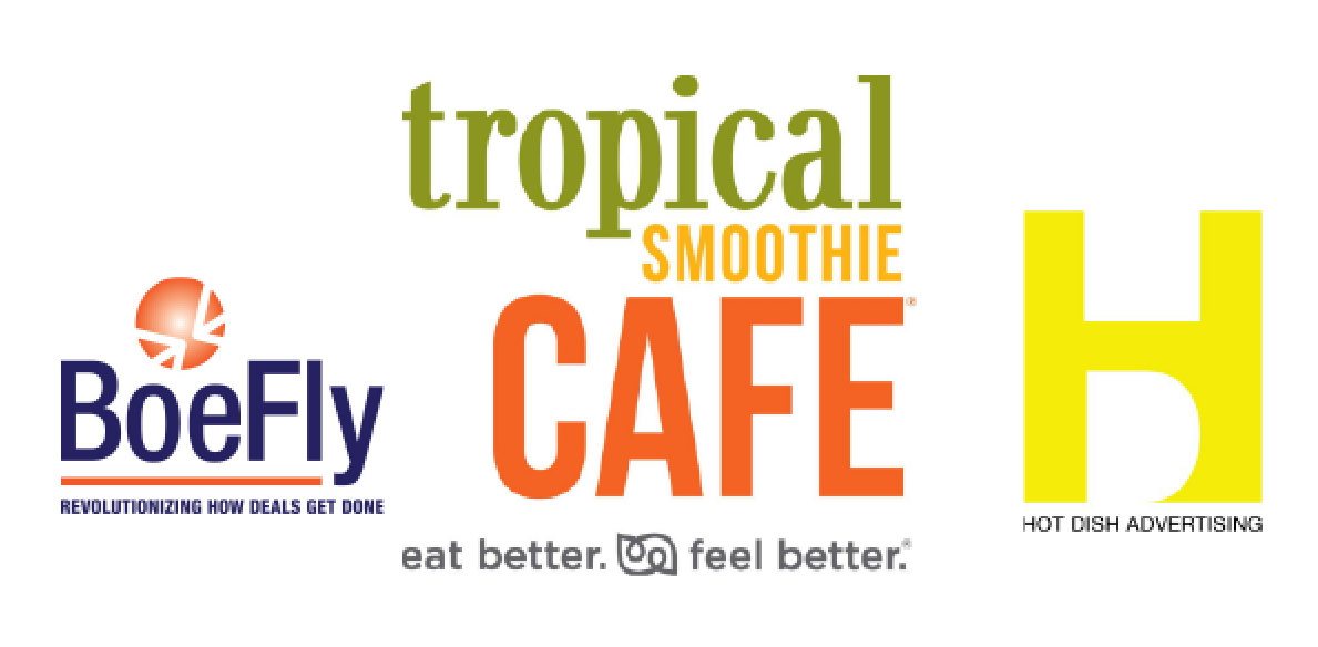 BoeFly, Tropical Smoothie Cafe, Hot Dish Advertising