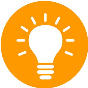 Lightbulb-Icon-Orange